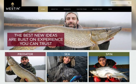 new Westin-Fishing website