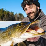 Ice Fishing in Sweden for Pike