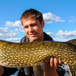 Fishing for Pike in Sweden