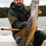 Sweden fishing - Pike