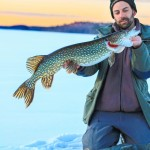 Ice Fishing for Pike - Sweden