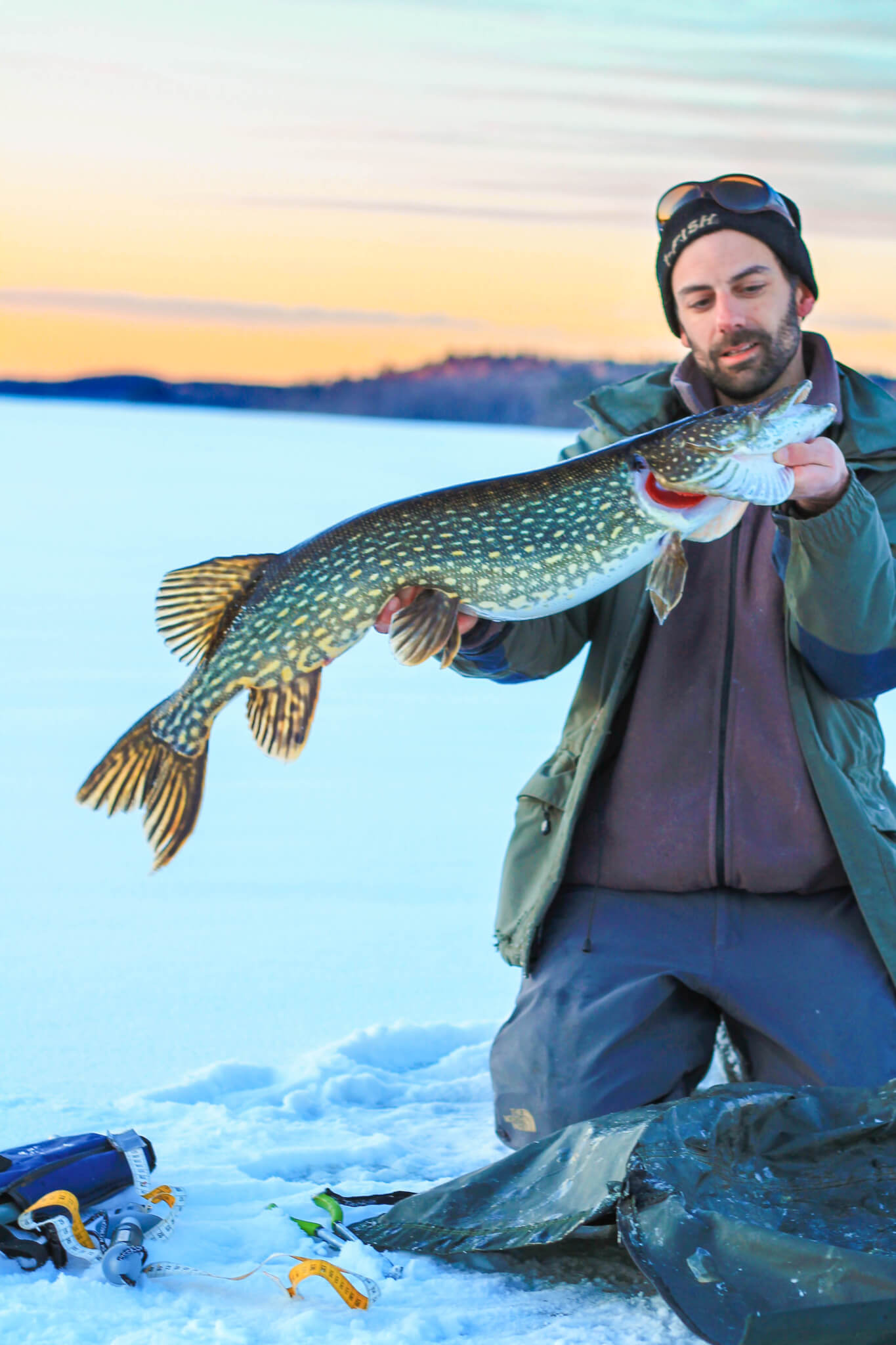 Sweden - Ice Fishing for Pike