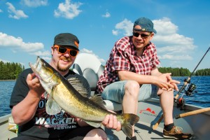 Sweden: Zander Fishing for the first time