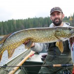 Sweden Fishing: Pike Fishing in Sweden.