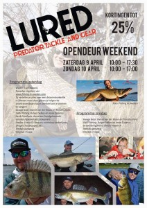 Fishing in Sweden visiting Lured Tackle Shop in Blegium