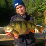 1.66kg and 45cm long perch from Sweden